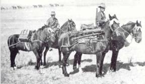 Mounted Machine-Gun Crew (Imperial War Museum)