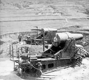 Japanese Howitzer position at Port Arthur