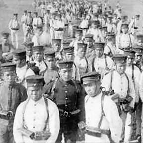 Grim Resolve, Japanese infantry at Port Arthur