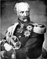 Field Marshal Prince Blücher von Wahlstadt.