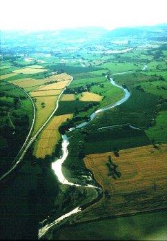 The Caersws Basin. (Clwyd-Powys Archaeological Trust)