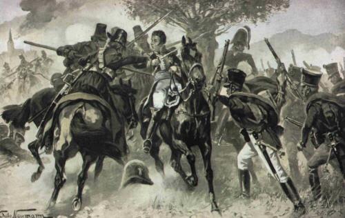 The capture of General Vandamme