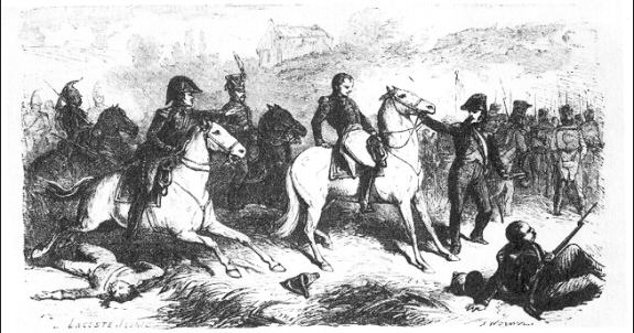 Death of General Girard