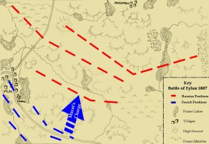 Plan of the battle.