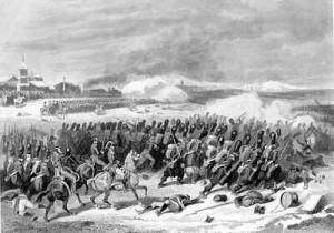 'The Battle of Eylau' L Flameng, (Musee du Louvre, Paris)