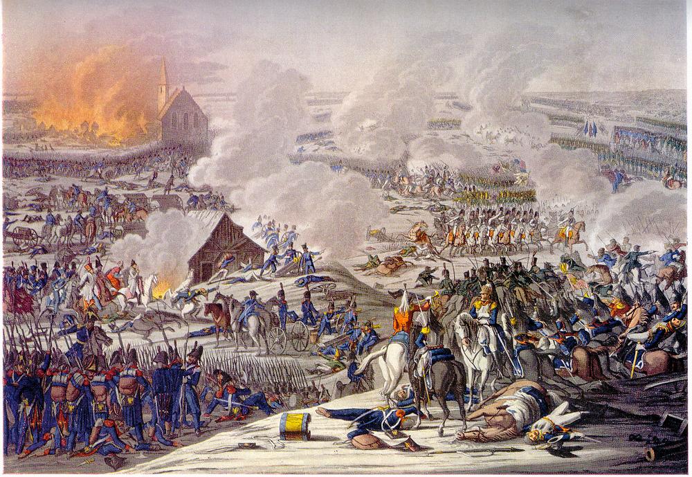 Battle of Eylau. By J.L. Rugendas