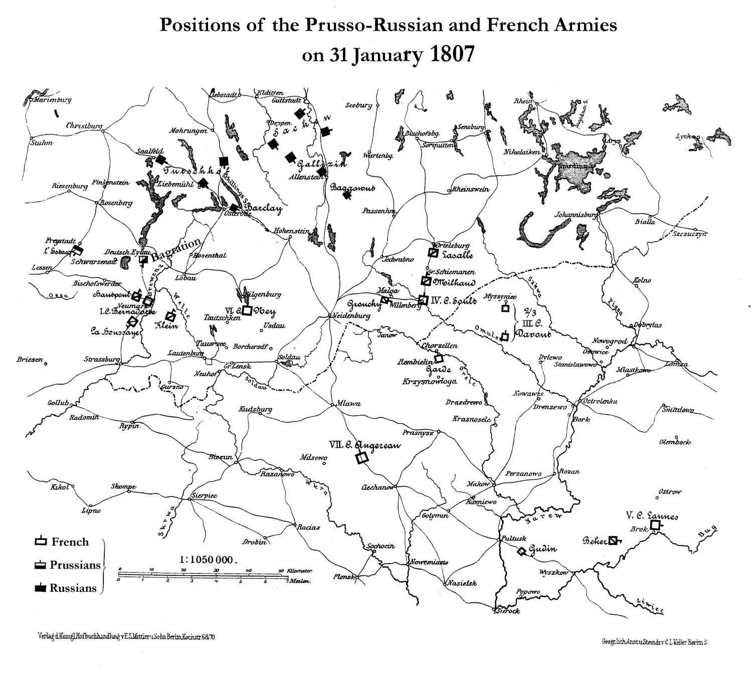 Map supplied by Alexander Mikaberidze