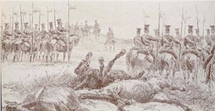 Polish Lancers in French service 1807
