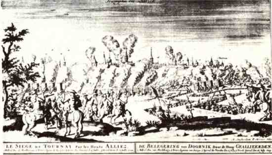 The Siege of Tournai 1709