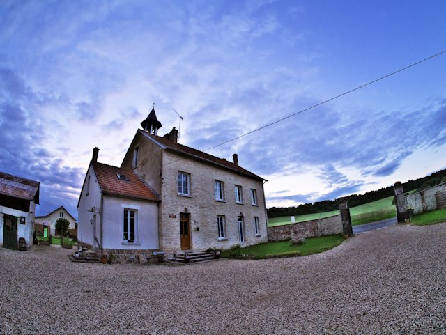 Our base during the trip - Ferme Saint Antoine, Neuville-Sur-Ailette .