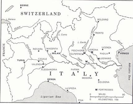 The Italian campaign 1859.