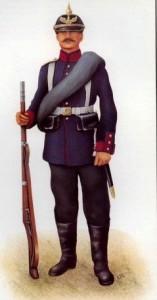 Prussian Infantryman.