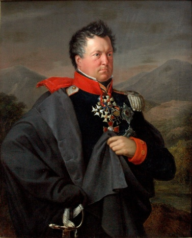 Blücher's loyal and dependable Chief of Staff, General Gneisenau.