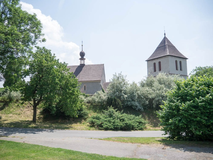 Wenzelsberg church today. Photograph taken in 2015.