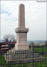 Monument to the Austrian VI Corps at Nachod. Czech Photograph archive.