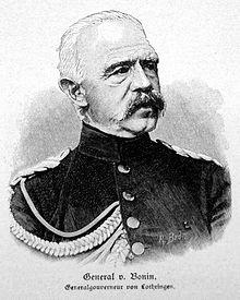 General Adolf von Bonin.
