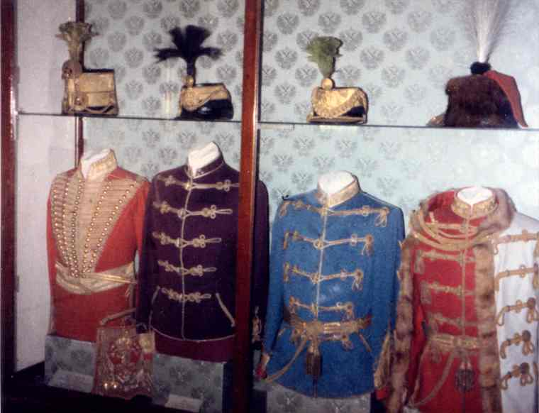 Austrian Hussar uniforms.