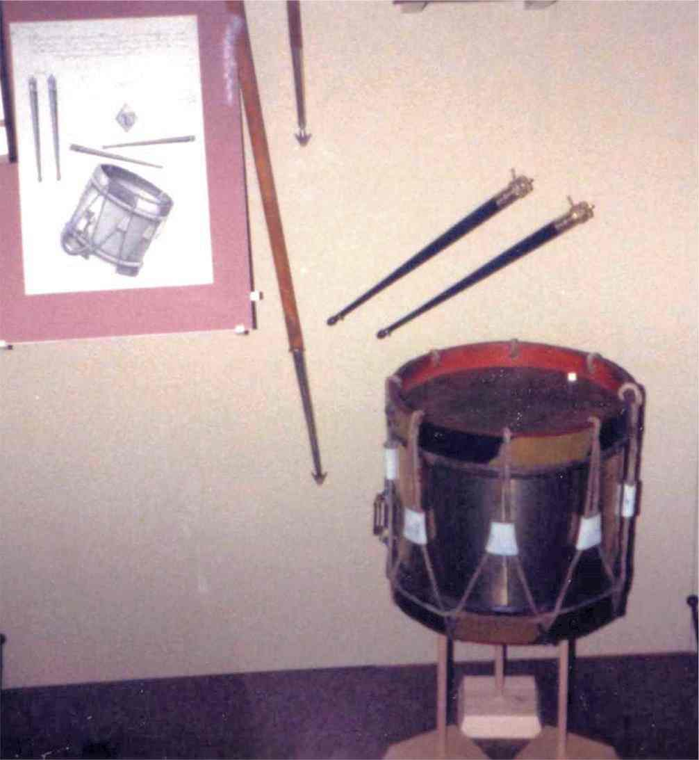 Austrian infantry side drum.